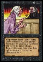 Collectors Ed Intl: Demonic Attorney (Not Tournament Legal)