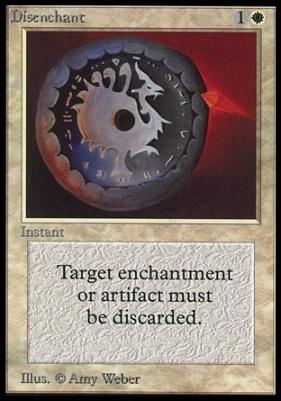 Collectors Ed Intl: Disenchant (Not Tournament Legal)