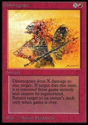 Collectors Ed Intl: Disintegrate (Not Tournament Legal)