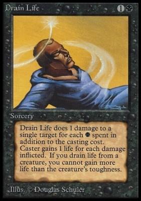 Collectors Ed Intl: Drain Life (Not Tournament Legal)