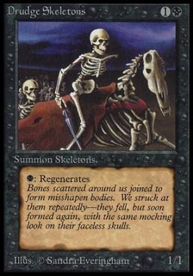 Collectors Ed Intl: Drudge Skeletons (Not Tournament Legal)