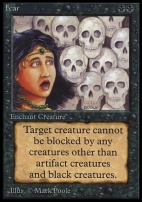 Collectors Ed Intl: Fear (Not Tournament Legal)