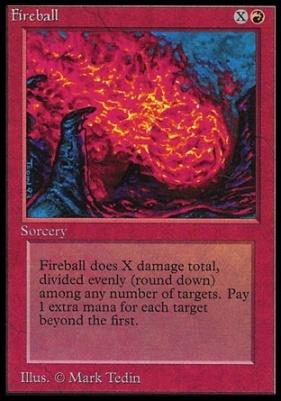 Collectors Ed Intl: Fireball (Not Tournament Legal)