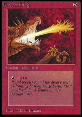 Collectors Ed Intl: Firebreathing (Not Tournament Legal)