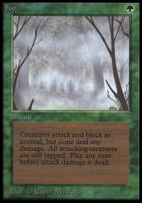 Collectors Ed Intl: Fog (Not Tournament Legal)