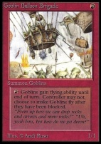 Collectors Ed Intl: Goblin Balloon Brigade (Not Tournament Legal)