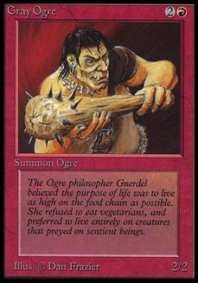 Collectors Ed Intl: Gray Ogre (Not Tournament Legal)