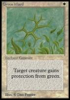 Collectors Ed Intl: Green Ward (Not Tournament Legal)