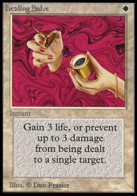 Collectors Ed Intl: Healing Salve (Not Tournament Legal)