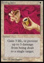 Collectors Ed Intl: Healing Salve (Not Tournament Legal)