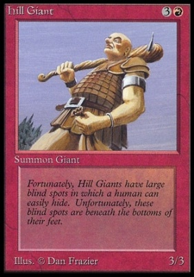 Collectors Ed Intl: Hill Giant (Not Tournament Legal)