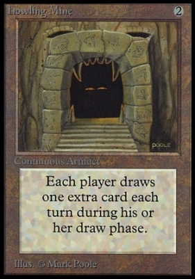 Collectors Ed Intl: Howling Mine (Not Tournament Legal)