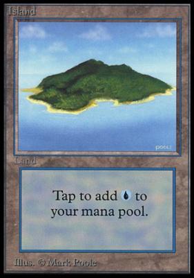 Collectors Ed Intl: Island (A - Not Tournament Legal)
