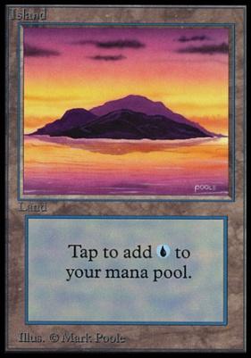 Collectors Ed Intl: Island (B - Not Tournament Legal)