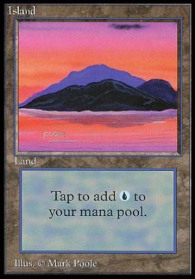 Collectors Ed Intl: Island (C - Not Tournament Legal)