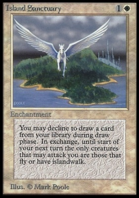 Collectors Ed Intl: Island Sanctuary (Not Tournament Legal)