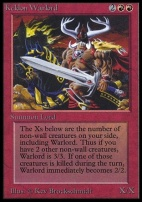 Collectors Ed Intl: Keldon Warlord (Not Tournament Legal)