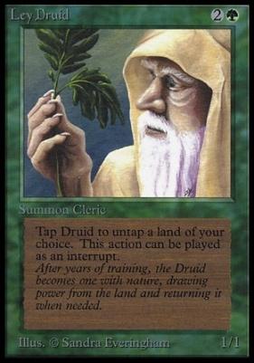Collectors Ed Intl: Ley Druid (Not Tournament Legal)