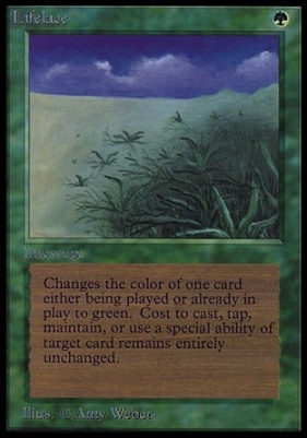 Collectors Ed Intl: Lifelace (Not Tournament Legal)