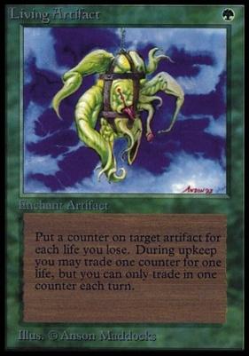 Collectors Ed Intl: Living Artifact (Not Tournament Legal)