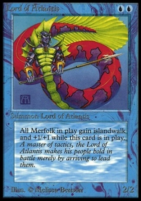 Collectors Ed Intl: Lord of Atlantis (Not Tournament Legal)