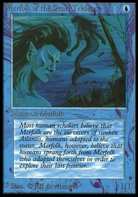 Collectors Ed Intl: Merfolk of the Pearl Trident (Not Tournament Legal)