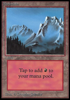 Collectors Ed Intl: Mountain (A - Not Tournament Legal)