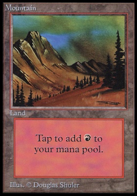 Collectors Ed Intl: Mountain (C - Not Tournament Legal)