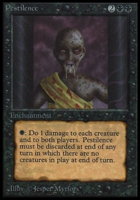 Collectors Ed Intl: Pestilence (Not Tournament Legal)