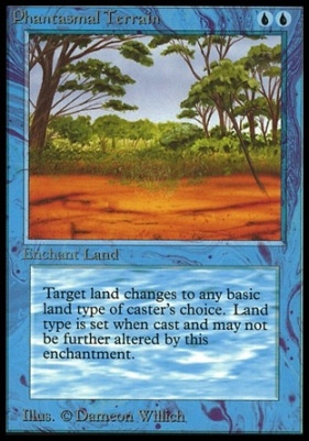 Collectors Ed Intl: Phantasmal Terrain (Not Tournament Legal)
