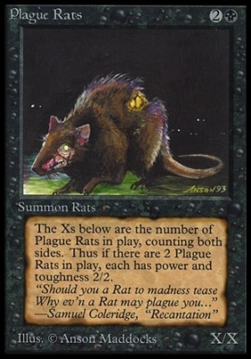 Collectors Ed Intl: Plague Rats (Not Tournament Legal)