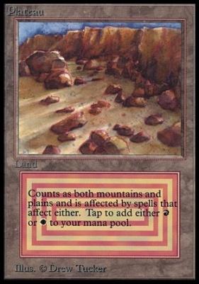 Collectors Ed Intl: Plateau (Not Tournament Legal)