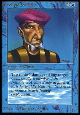 Collectors Ed Intl: Prodigal Sorcerer (Not Tournament Legal)