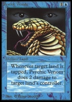 Collectors Ed Intl: Psychic Venom (Not Tournament Legal)