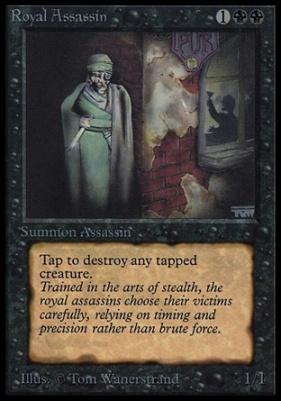 Collectors Ed Intl: Royal Assassin (Not Tournament Legal)