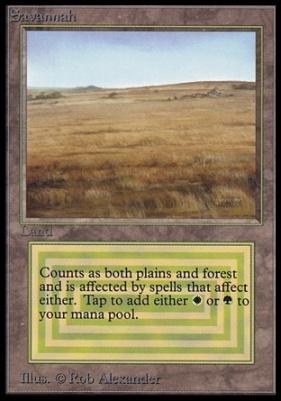 Collectors Ed Intl: Savannah (Not Tournament Legal)