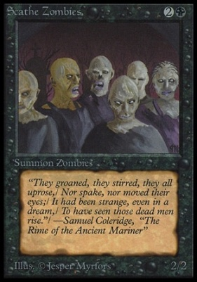 Collectors Ed Intl: Scathe Zombies (Not Tournament Legal)