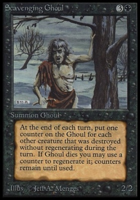 Collectors Ed Intl: Scavenging Ghoul (Not Tournament Legal)