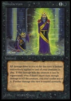 Collectors Ed Intl: Simulacrum (Not Tournament Legal)