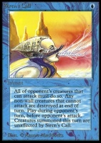 Collectors Ed Intl: Siren's Call (Not Tournament Legal)