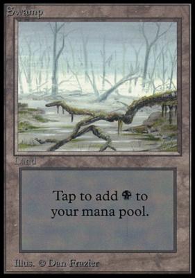 Collectors Ed Intl: Swamp (B - Not Tournament Legal)