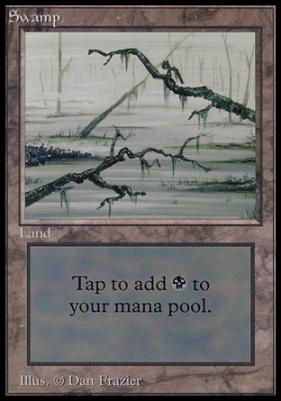 Collectors Ed Intl: Swamp (C - Not Tournament Legal)