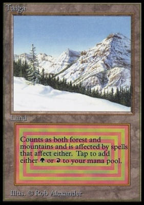 Collectors Ed Intl: Taiga (Not Tournament Legal)