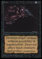 Collectors Ed Intl: Terror (Not Tournament Legal)