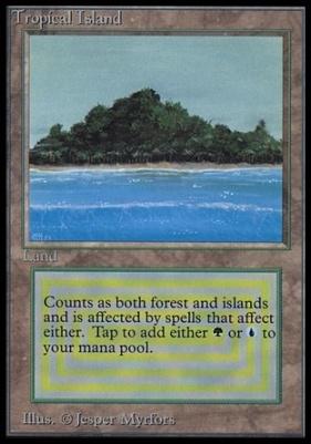 Collectors Ed Intl: Tropical Island (Not Tournament Legal)