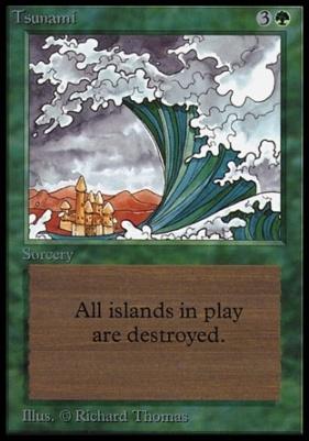 Collectors Ed Intl: Tsunami (Not Tournament Legal)