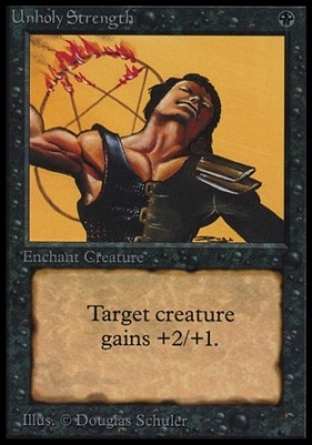 Collectors Ed Intl: Unholy Strength (Not Tournament Legal)