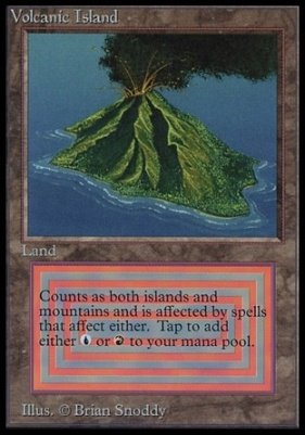 Collectors Ed Intl: Volcanic Island (Not Tournament Legal)