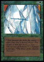 Collectors Ed Intl: Wall of Ice (Not Tournament Legal)
