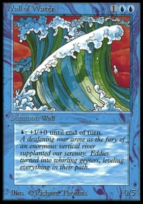 Collectors Ed Intl: Wall of Water (Not Tournament Legal)